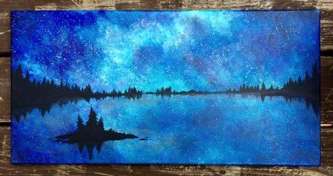 mountain-lake-at-night