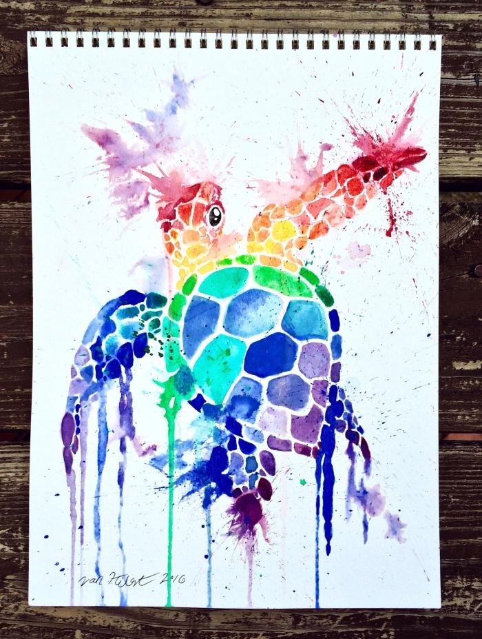 rainbow-honu